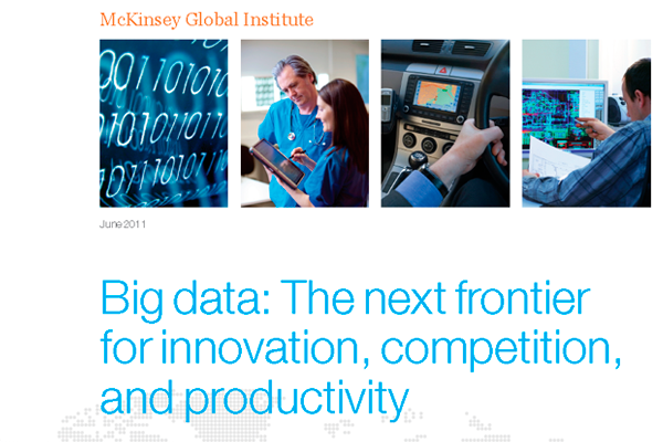 Big data: The next frontier for innovation, competition, and productivity